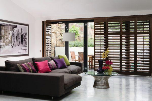 American-Walnut-Bifold-wooden-window-shutters