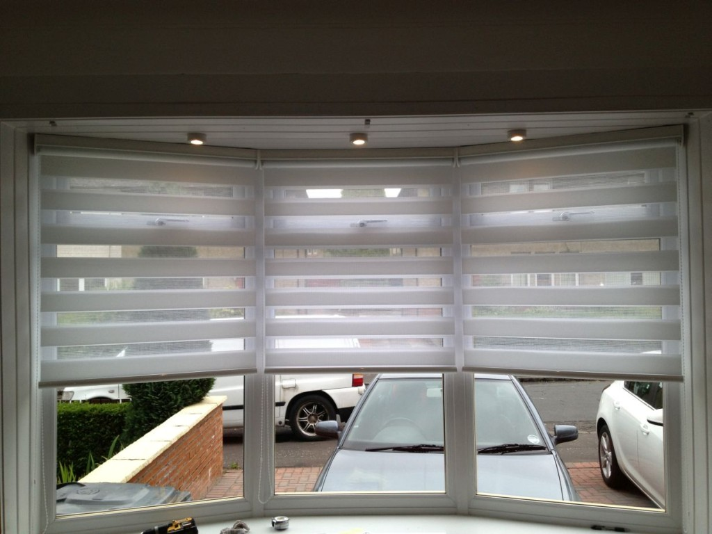 pinterest between each window hung green on blinds luxurious panels blindsdotcom curtain the your give bay a windows best look images with curtains