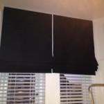 nero black window blinds